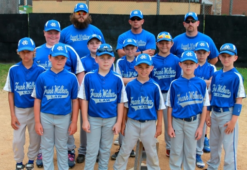 Frank Walker Law - Cross Lanes | Nitro Little League Baseball Team